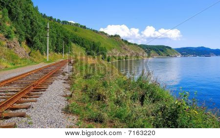 Circum Baikal railroad