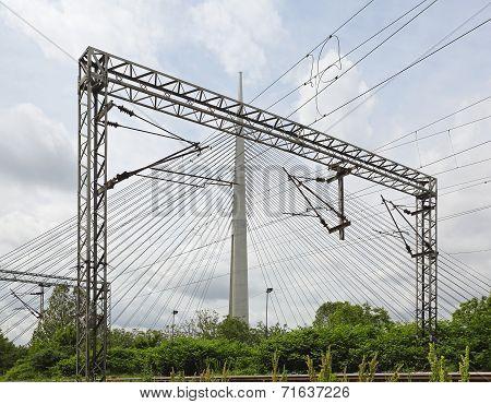 Overhead Train Line