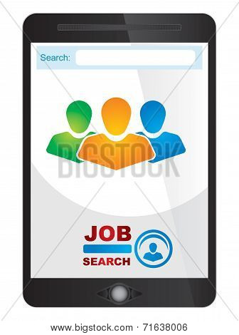 Job Finder Application Screen