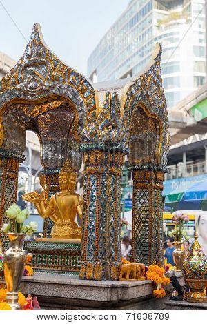 Erawan Shrine Bangkok Thailand