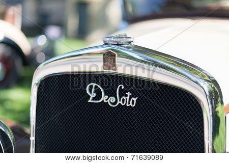 1930 Desoto CK Radiator