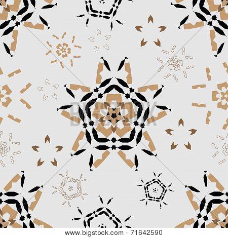 Ornamental round morocco seamless pattern. Orient traditional ornament. Oriental motif. Flat. RGB