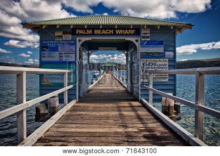 Palm beach wharf, Sydney