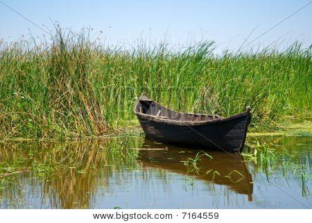Old Handmade Boat