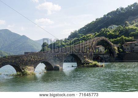 Ponte Della Maddalena (tuscany, Italy)