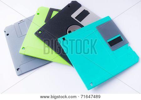 3.5 inches floppy discs