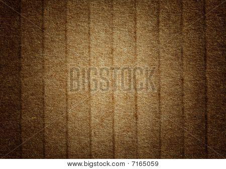 Brown Grunge Corrugated Cardboard