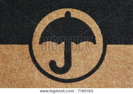 Cardboard Umbrella Mark