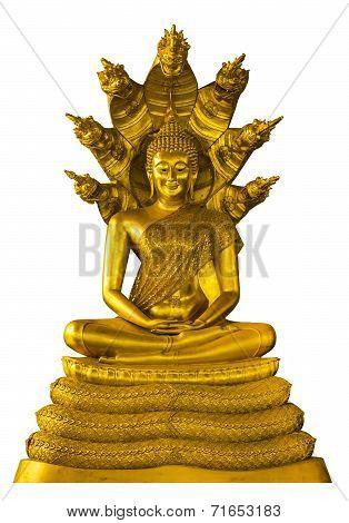 Buddha Image Statue With Naga Over Head