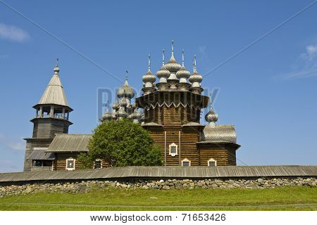 Wooden Churches In Kizhi, Russia