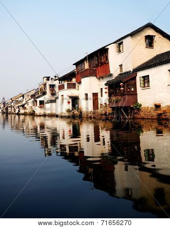 Venice of the East', Suzhou, China.