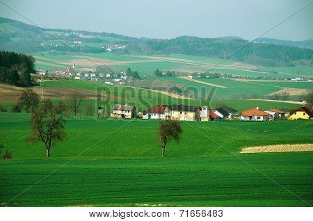 Rural Area In Austria