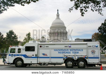 Hazmat Vehicle, Washington Dc
