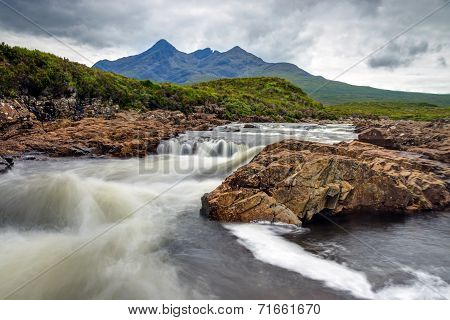 Small river on the Isle of Skye