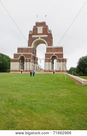 The Memorial In Thiepval