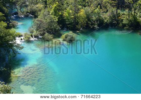 national park Plitvice in Croatia.
