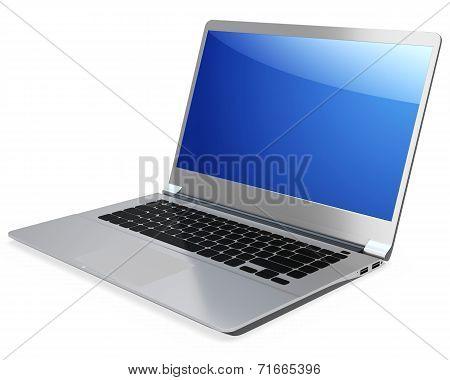 3D Detailed Laptop