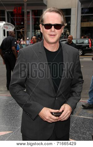 LOS ANGELES - SEP 8:  Cary Elwes at the Mel Brooks Hand and Foot Print Ceremony at TCL Chinese Theater on September 8, 2014 in Los Angeles, CA