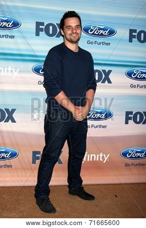 LOS ANGELES - SEP 8:  Jake Johnson at the 2014 FOX Fall Eco-Casino at The Bungalow on September 8, 2014 in Santa Monica, CA