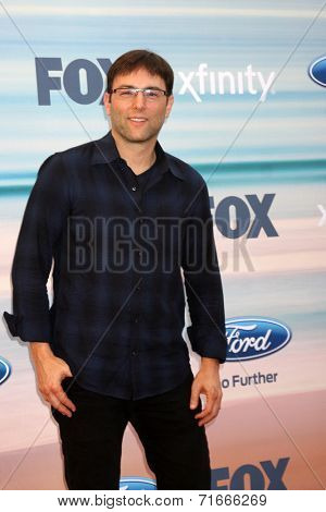 LOS ANGELES - SEP 8:  Mark Goffman at the 2014 FOX Fall Eco-Casino at The Bungalow on September 8, 2014 in Santa Monica, CA