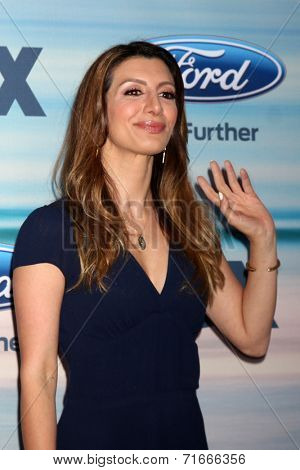 LOS ANGELES - SEP 8:  Nasim Pedrad at the 2014 FOX Fall Eco-Casino at The Bungalow on September 8, 2014 in Santa Monica, CA