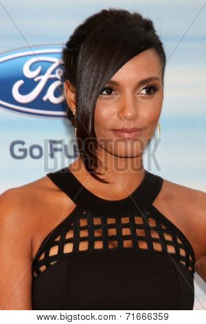 LOS ANGELES - SEP 8:  Jessica Lucas at the 2014 FOX Fall Eco-Casino at The Bungalow on September 8, 2014 in Santa Monica, CA