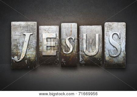 Jesus Letterpress