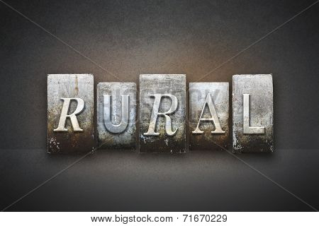 Rural Theme Letterpress