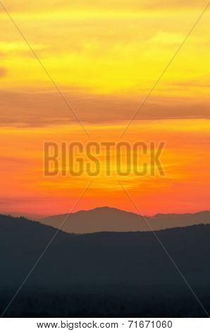 Beautiful Sky After Sunset