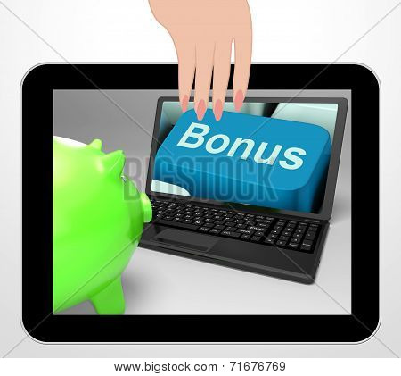 Bonus Key Displays Incentives And Extras On Web
