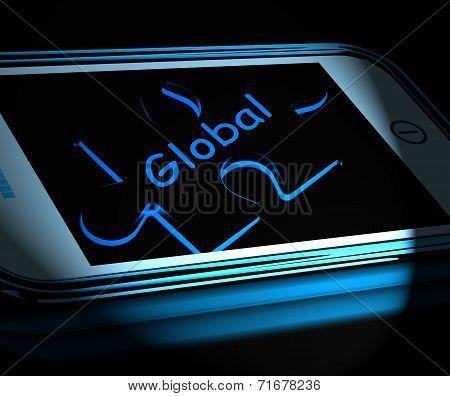 Global Smartphone Displays Worldwide Everywhere And International
