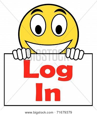 Log In Login On Sign Shows Sign In Online