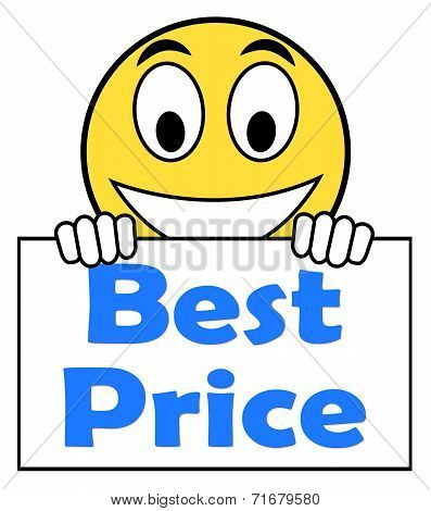 Best Price On Sign Shows Promotion Offer Or Discount