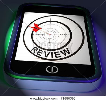 Review Smartphone Displays Feedback Evaluation And Assessment