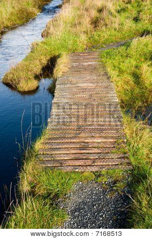 Footbridge To Eilean Mor Loch Finlaggan