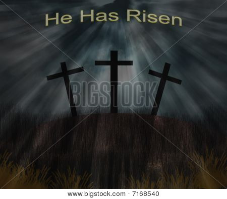 He Has Risen (Easter Print)
