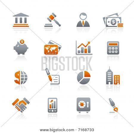 Business & Finance // Graphite Icons Series