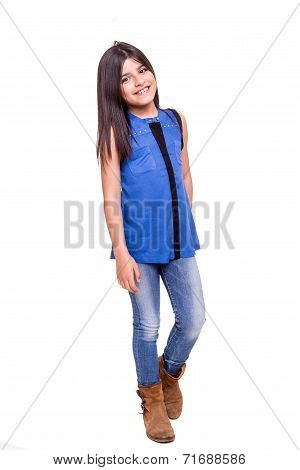 Little Girl Posing