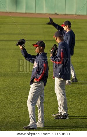 Twins Outfielders