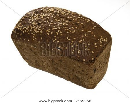 Rye-bread Isolated On White Background