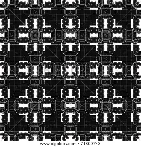 Abstract Geometric Square Technical Background.
