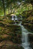 Постер, плакат: Waterfalls on Scottish Stream
