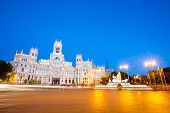 pic of old post office  - Plaza de la Cibeles  - JPG