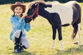 stock photo of country girl  - Horse  - JPG