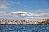 pic of safe haven  - A veiw of the main marine at Aegina Island Saronic Islands Greece