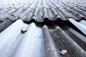 pic of collapse  - Roof collapses and leakage of rain water - JPG