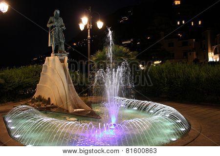 Statue Of Flavio Gioia