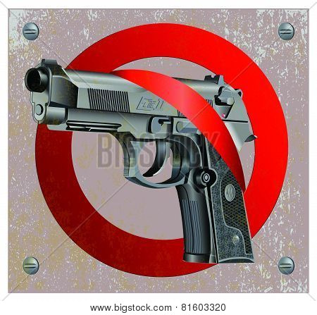 Handgun Beretta Elite Stop