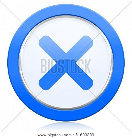 cancel icon x sign