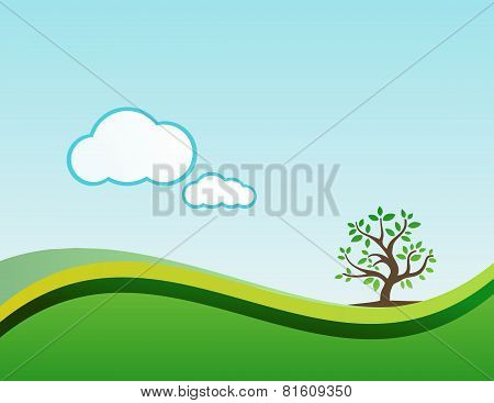 natural landscape nature background